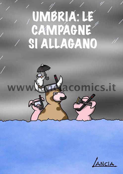 Campagne allagate