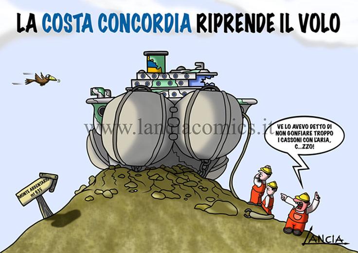 Costa Concordia su Argentario