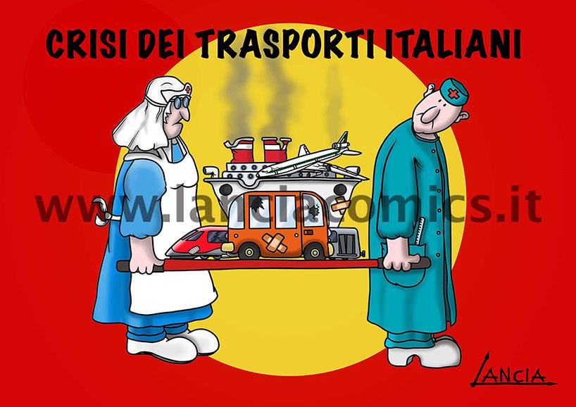 Crisi trasporti in Italia