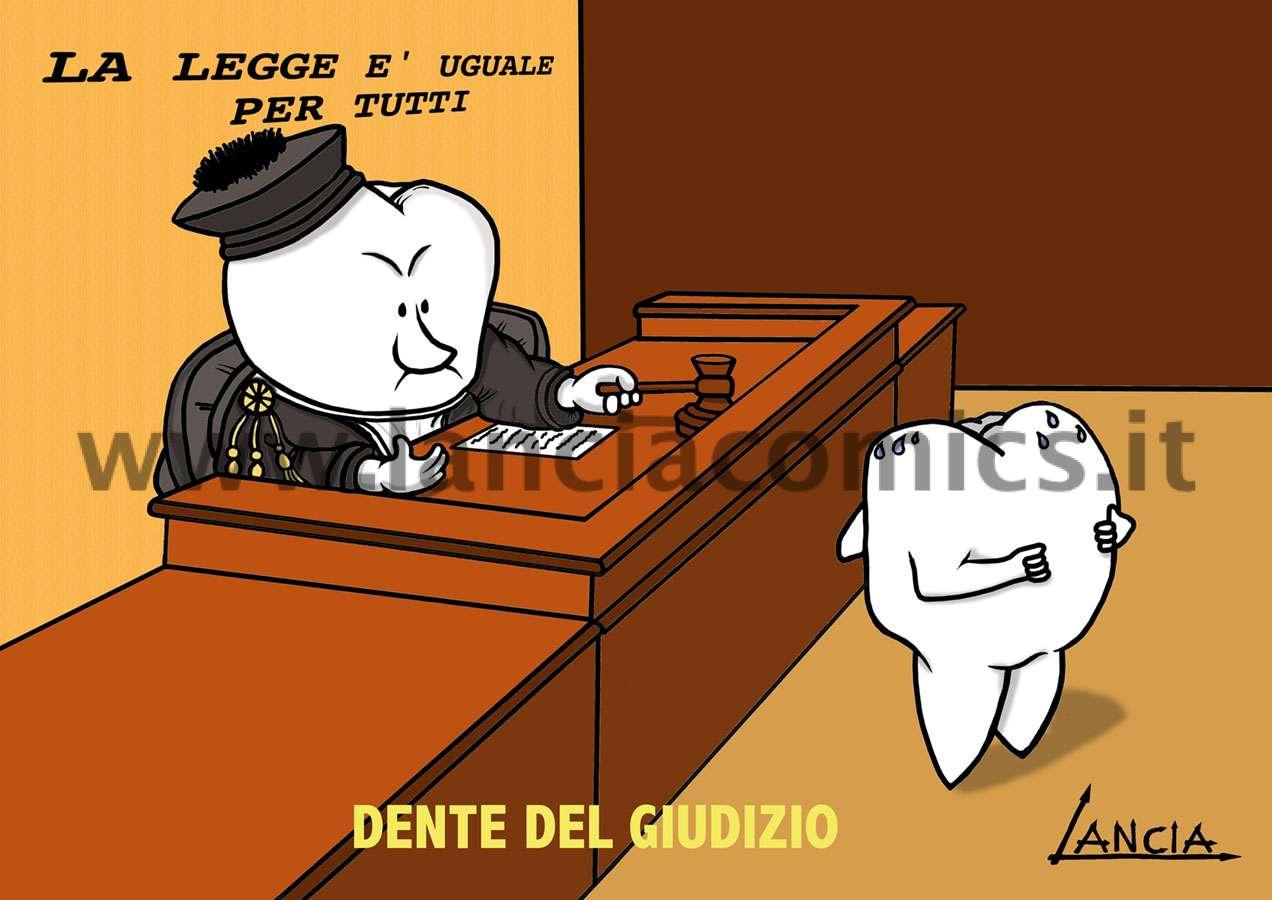Dente del giudizio