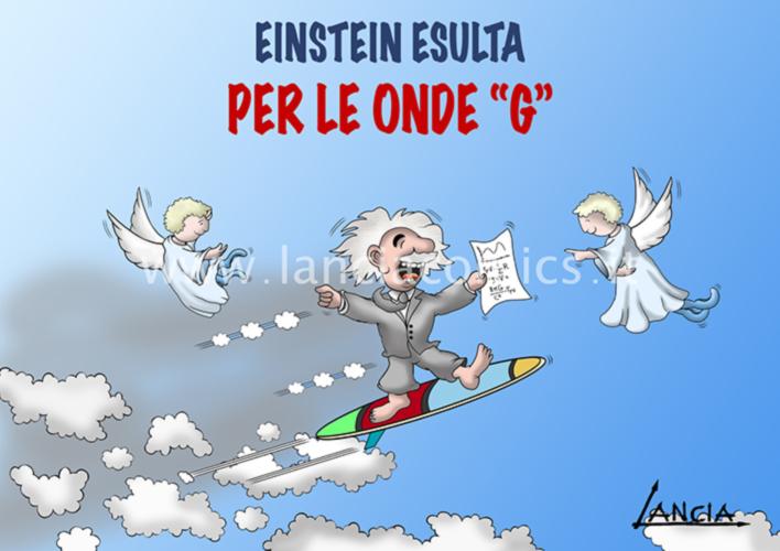 Einstein e le onde G