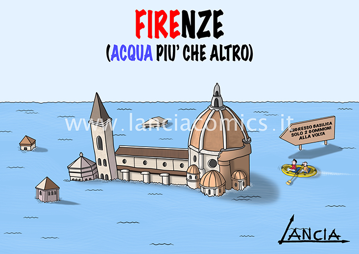Firenze allagata