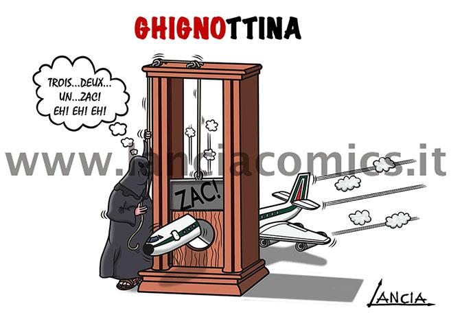 Ghignottina Alitalia