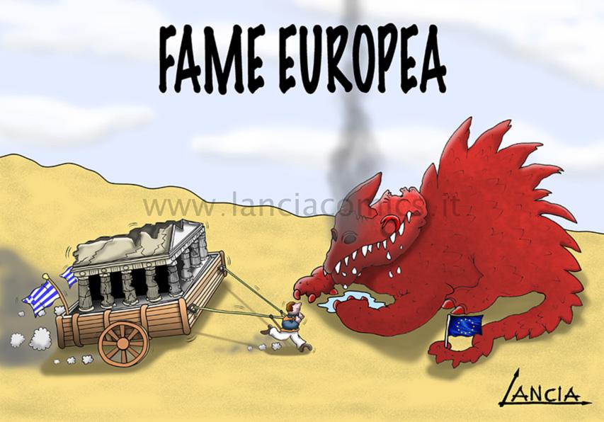 Grecia in default