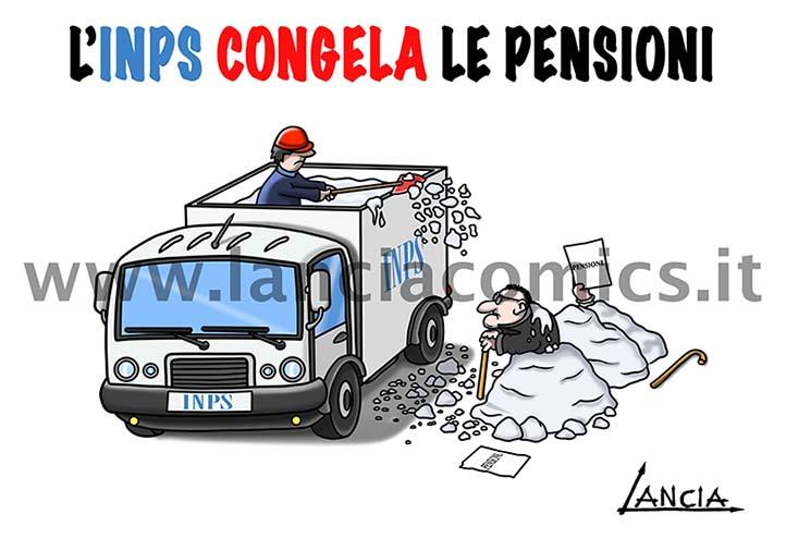 INPS congela pensionI