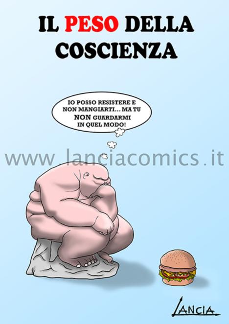 Il peso della coscienza