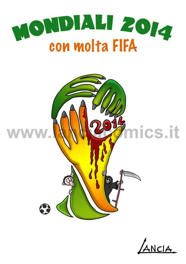 Mondiali 2014 con Fifa