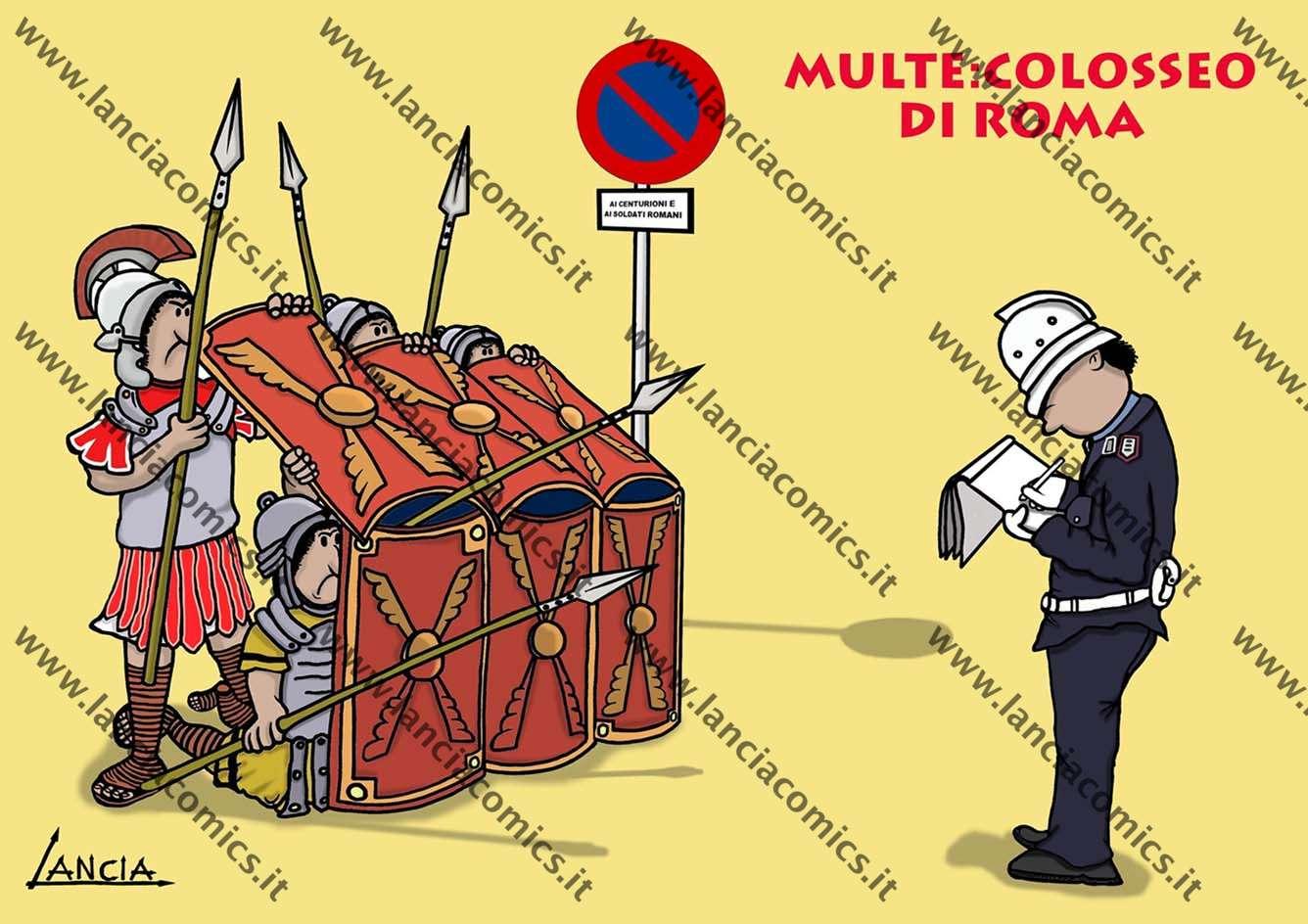 Multe al Colosseo
