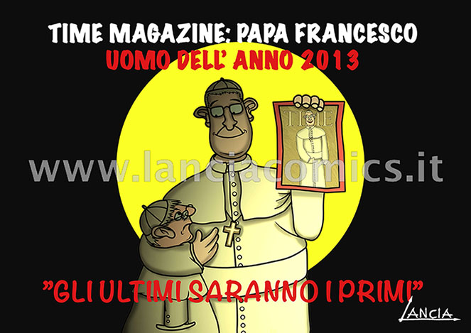 Papa Francesco su Time Magazine