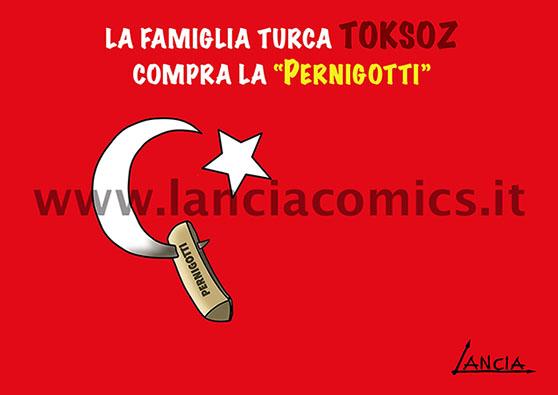 Pernigotti vende a Toksoz