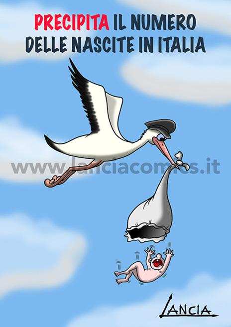 Poche nascite in Italia