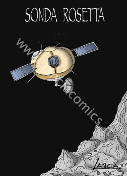 Rosetta vicina alla cometa