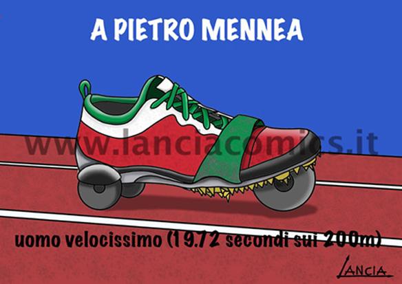 Omaggio a Pietro Mennea