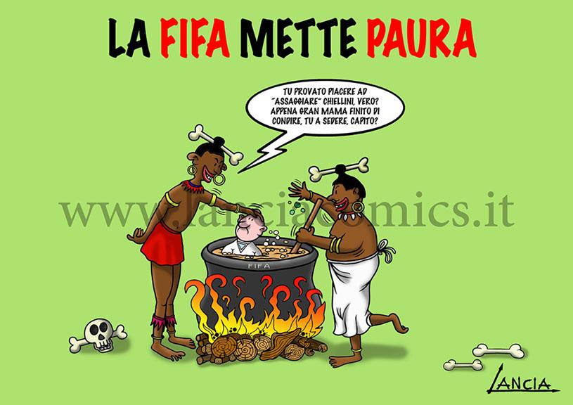 Suarez bollito da FIFA