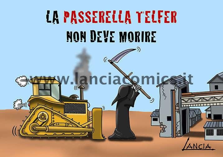 Passerella TELFER a Papigno