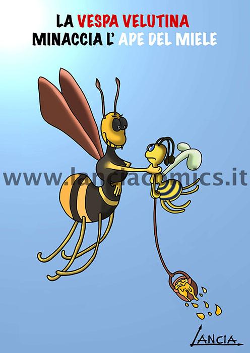 Vespa contro ape